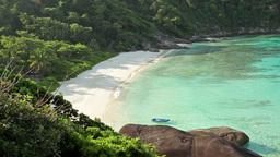 Paradise tropical beach Stock Video Footage