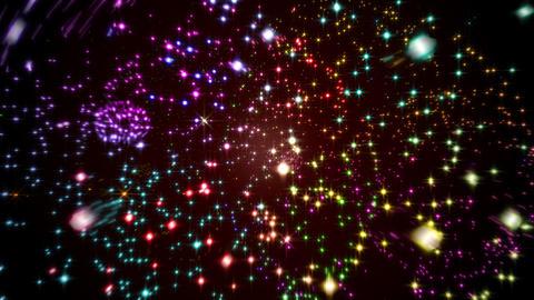 Intense fireworks Animation