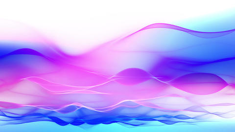 abstract background, soft colorful waves animation Animation