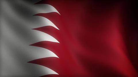Flag of Qatar Stock Video Footage
