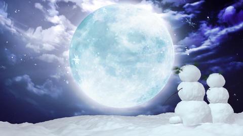 Snowman Christmas 1