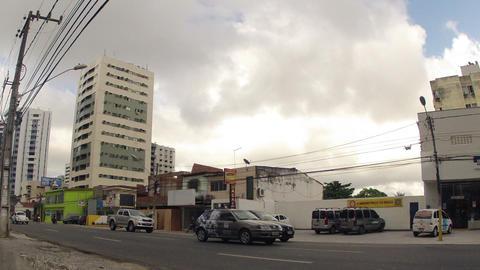 Time lapse Urban Traffic Stock Video Footage