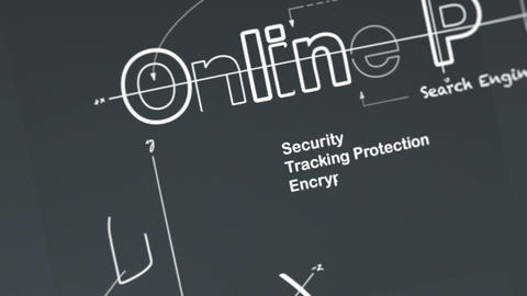 Online Privacy Stock Video Footage