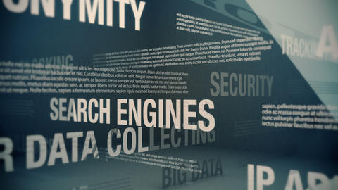 Online Privacy Related Terms Stock Video Footage