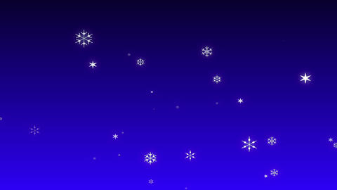 Snow Blue Stock Video Footage