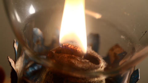Kerosene lamp Footage
