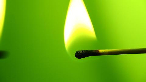 Match Fire Footage