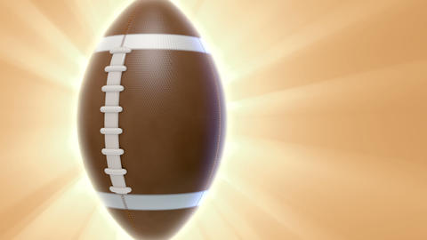 Football Transition stock footage