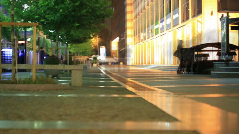 Night Walk In The City 4 Footage