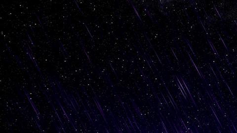 Perseid meteor shower HD Stock Video Footage