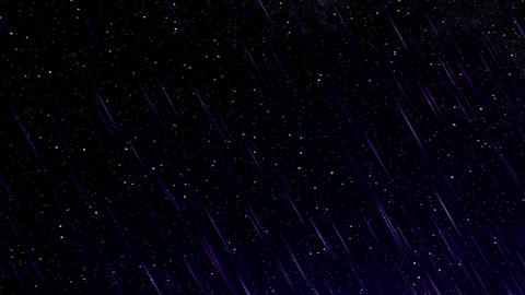 Perseid meteor shower HD Stock Video Footage