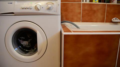 Washing machine Stock Video Footage