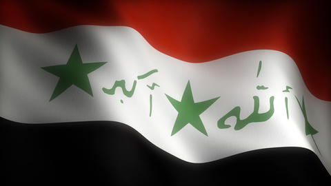 Flag of Iraq Animation