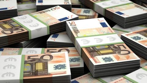 Billion euro Stock Video Footage