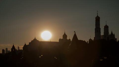 Kremlin sunset Stock Video Footage