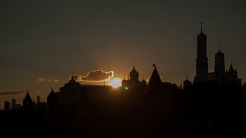 Kremlin sunset Footage