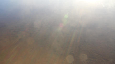 the fog is formed of water Stock Video Footage