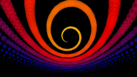 radio twirl wave Stock Video Footage