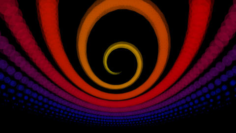 radio twirl wave Animation