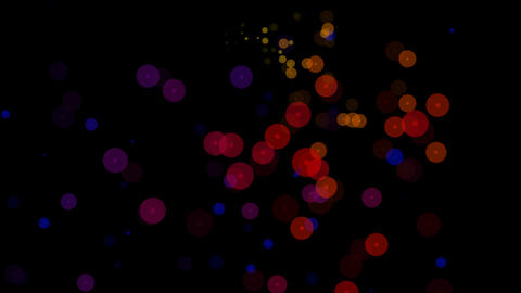 circle sparkling colors Stock Video Footage