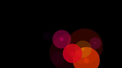 circle buble colorful Stock Video Footage