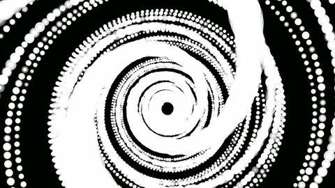 retro dot hypnotize Animation