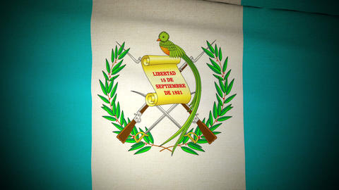 Flag Guatemala 04 Animation