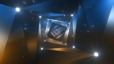 Tunnel tube twist a 6d 2 HD Animation