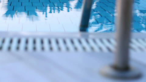Blue pool Footage