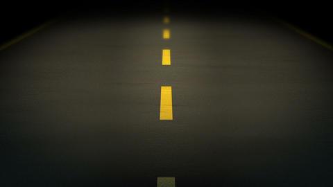 Night Road loop 01 Stock Video Footage