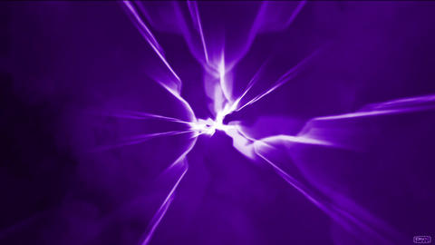 Dazzling Lightning,electronic Energy Field In Universe Space stock footage