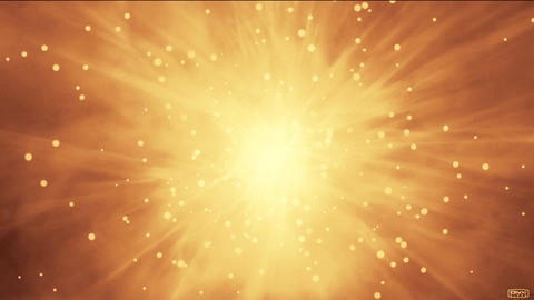 explosion particles in space,flying nebula & rays laser in universe Animation