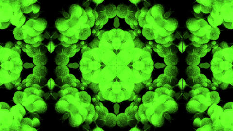 green flower pattern,wedding background,gorgeous orient... Stock Video Footage