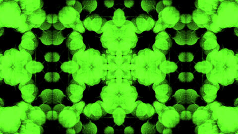 green flower pattern,wedding background,gorgeous orient religion fancy Animation
