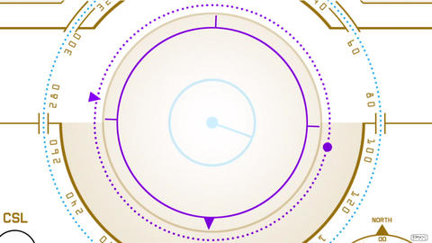 Radar GPS screen display,computer game navigation interface Animation