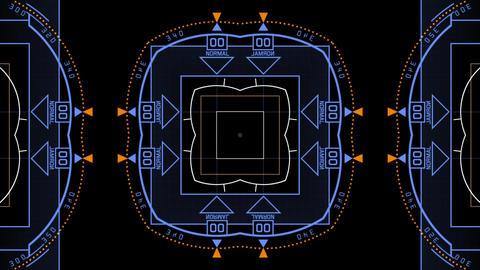 computer tech digital interface,Radar GPS screen display Animation