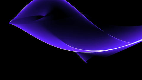 Abstract blue curve light & tech web laser... Stock Video Footage