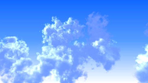 flying shuttle in clouds closeup,high altitude Stock Video Footage