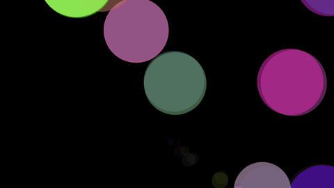 retro circle burst Stock Video Footage