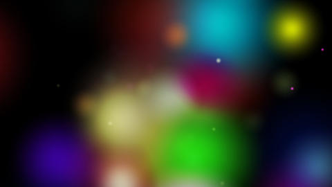 colorful bokeh blur Animation
