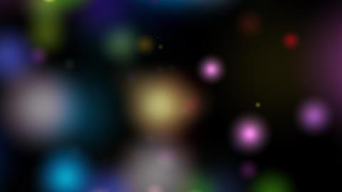 colorful bokeh blur Stock Video Footage