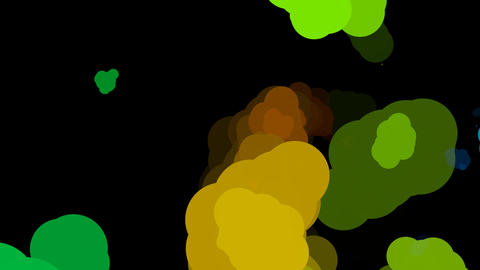 abstract color paint Stock Video Footage