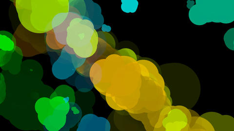 abstract color paint Animation
