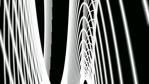 twist luminance line Stock Video Footage