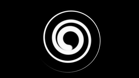 twirl matte line Animation