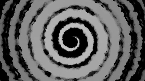 hypnotize matte paint Stock Video Footage