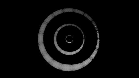 luminance tunnel rings Animation