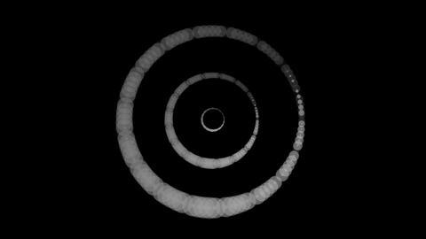 luminance tunnel rings Animation