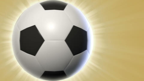 Soccer Ball Transition Stock Video Footage