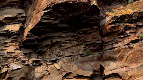 Ancient rock paintings of Khakassia Footage